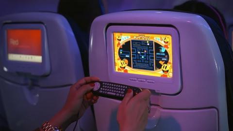 Tablets para todos en los vuelos de Virgin Airlines y su sistema de entretenimiento Red.