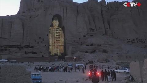 Budas destruidos por los talibanes reviven como hologramas.