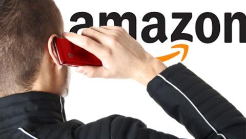 Amazon registra una patente para desbloquear el móvil con tu oreja
