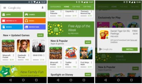 Google Play ofrecerá una app de pago gratis cada semana