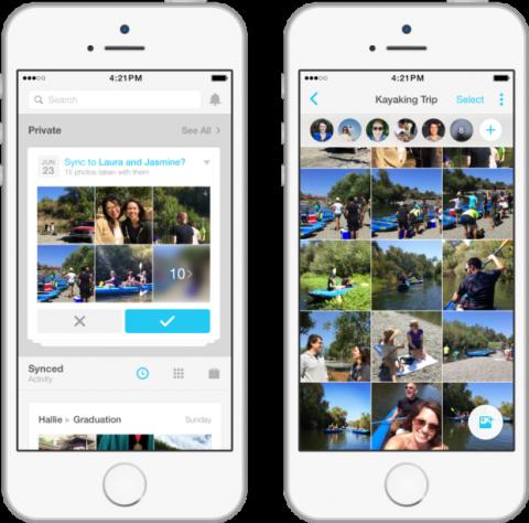 Facebook Moments agrupa las fotos aplicando tecnología de reconocimiento facial