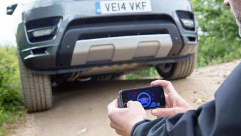 coche remoto range rover