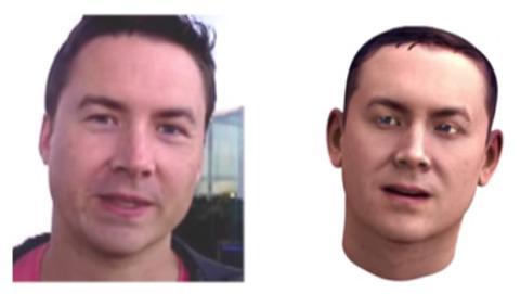 selfie modelo 3D