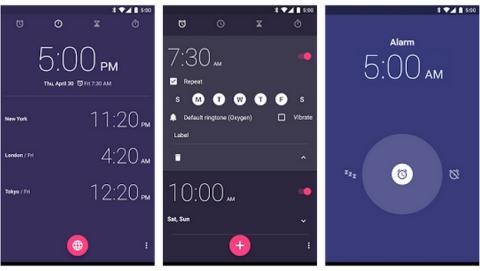 La app Reloj despertador oficial de Google llega a Google Play.