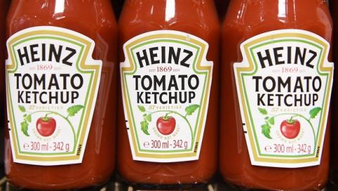 Si quieres porno, apunta con tu móvil a un bote de ketchup Heinz.