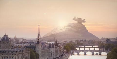 Arte Star Wars Nicolas Amiard
