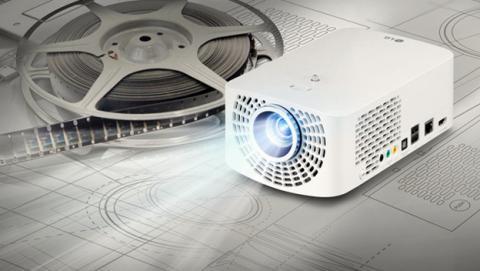 LG proyectores portátiles Minibeam