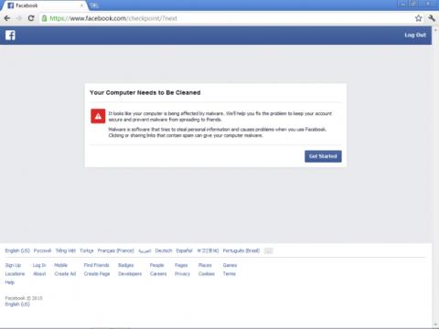 Facebook lanza una herramienta para proteger del malware