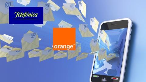 Correos falsos de facturas suplantan a Telefónica y Orange.