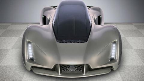 El primer coche superdeportivo impreso en 3D, The Blade