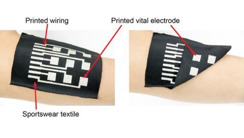 Desarrollan una tinta conductora para crear ropa electrónica