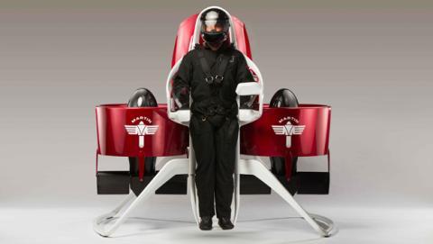Martin Jetpack, la mochila voladora a la venta en 2016