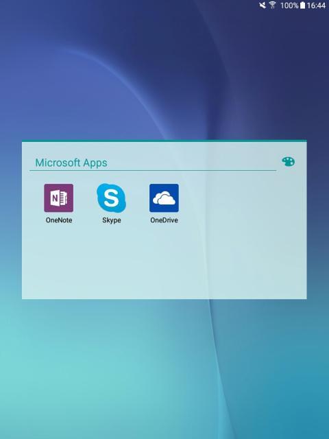 Samsung Galaxy Tab A (Microsoft Apps)