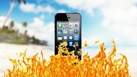 ¡Cuidado! La ola de calor puede acabar con tu smartphone