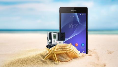 smartphone playa