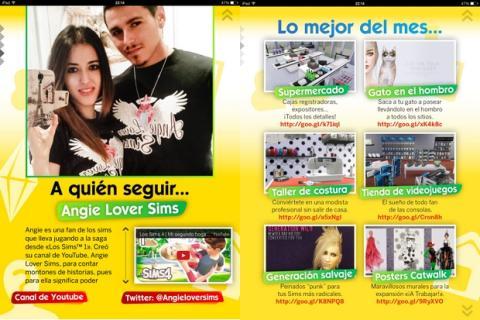 Revista Oficial Los Sims 15