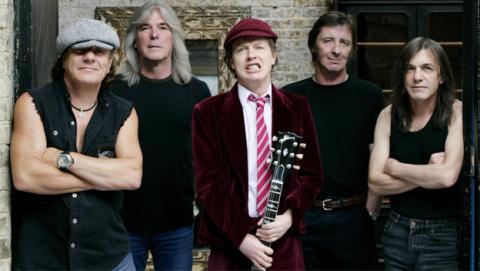 AC/DC en Spotify