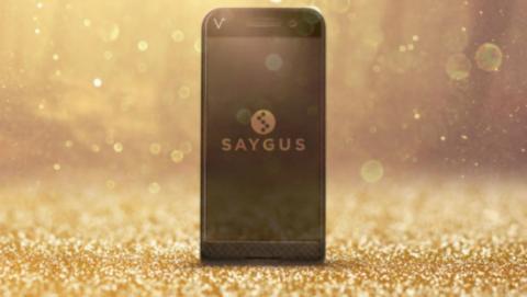 Saygus V Squared, el smartphone con 464GB de almacenamiento