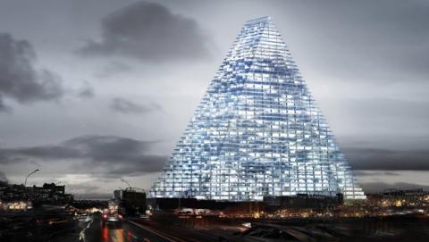 Nuevo rascacielos en París