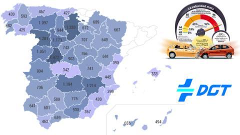 Operación salida: lista de radares móviles de España según la DGT