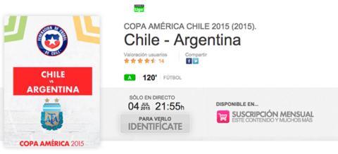 Chile Argentina final Copa América