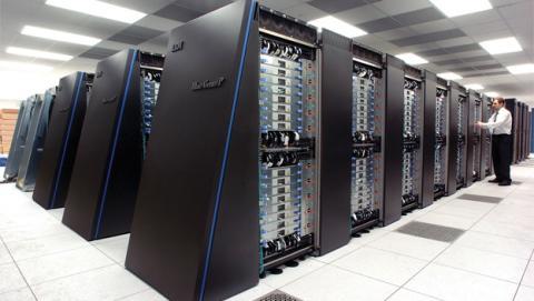 Lista con los cinco ordenadores más potentes del mundo