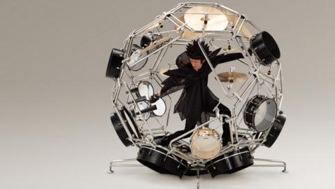 Raijin, la batería esférica de Yamaha y otras locuras del proyecto AH A MAY.