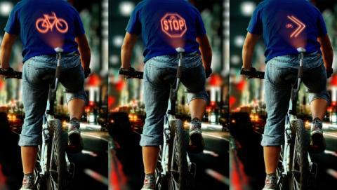 Cyclee, señales luminosas para salvar vidas ciclistas