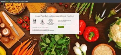 Amazon Fresh podría abrir en España