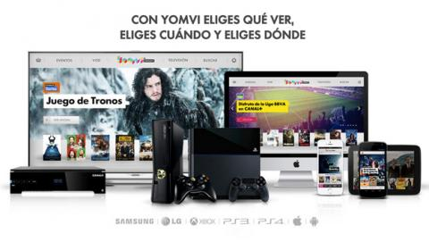 Yomvi, exclusivo para clientes de Movistar+