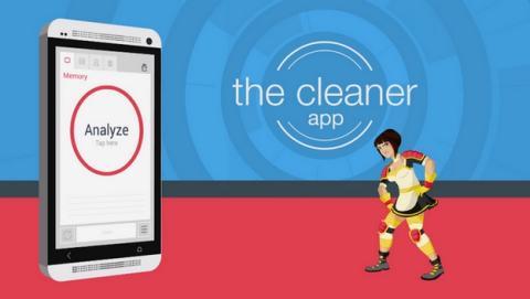 The Cleaner optimiza y mejora el rendimiento de tu smartphone Android.