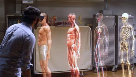 HoloLens para formar a los médicos