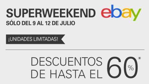 ¡Vuelve el SuperWeekend de eBay!