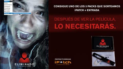 Regalamos entradas para ELIMINADO y un práctico iPatch