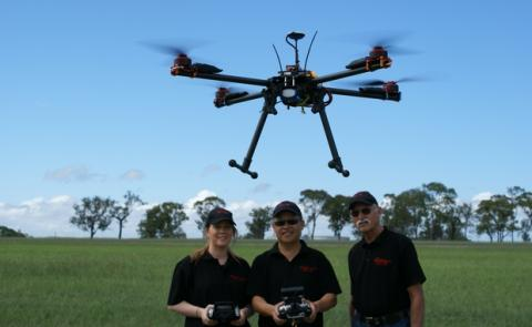 Profesión con futuro piloto de drones