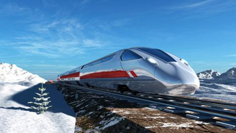 Planean una línea de tren de alta velocidad entre China, Rusia y Estados Unidos