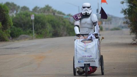 La fiebre por Star Wars llega a la Comic-Con 2015. Los stormtroopers, los protagonistas.