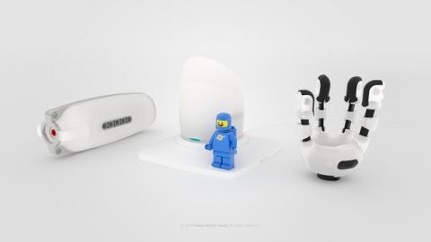 IKO prótesis de LEGO para niños