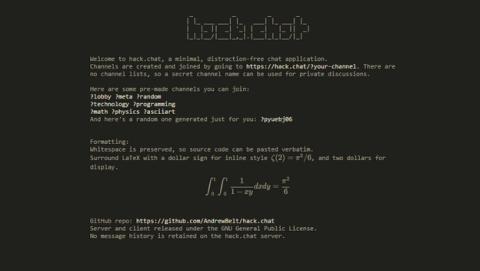 Crea un chat privado, encriptado y autodestruible con hack chat.