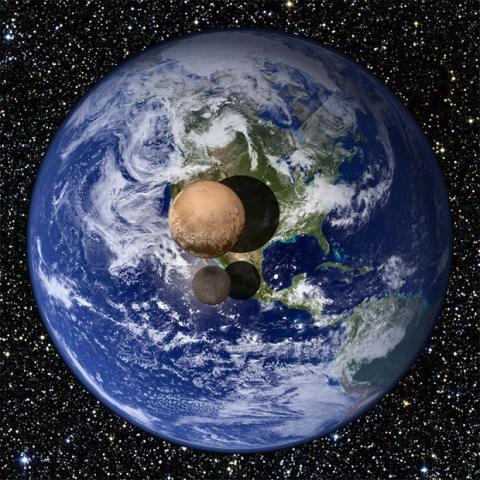 Pluton New Horizons Caronte