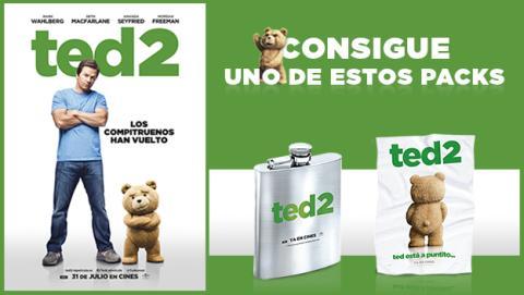 ¡Sorteamos un pack de productos de Ted 2!
