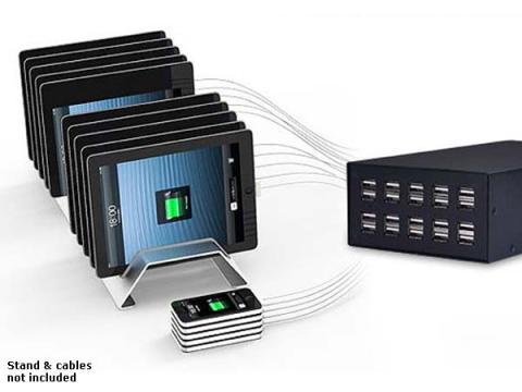 Un cargador te permite conectar hasta 60 dispositivos