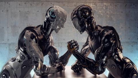 Cambiar los toros por peleas de robots