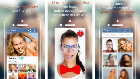 Winkmi, una app para compartir momentos y conocer gente