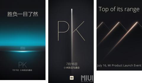 Xiaomi presentará el 16 de julio un nuevo dispositivo