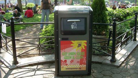 WiFi gratis en cubos de basura
