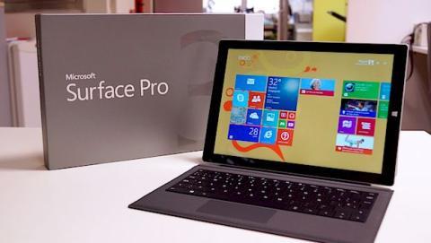 Microsoft podría lanzar en octubre la nueva Surface Pro 4