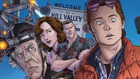 Regreso al Futuro vuelve atrás en el tiempo en formato comic.
