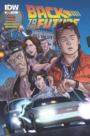Comic Regreso al Futuro