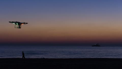 Drones socorristas vigilarán algunas playas españolas